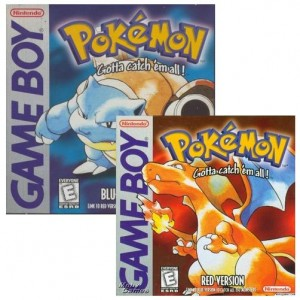 Pokemon Red and Blue for Game Boy